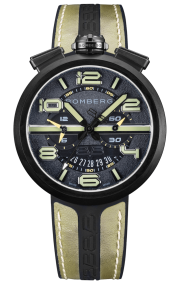 Bomberg 1968 Black & Green Chronograph Gent 45mm RS45CHPBA.41.3
