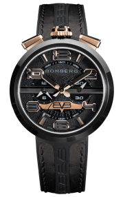 Bomberg 1968 Black & Gold Chronograph Gent 45mm RS45CHPBA.5.3