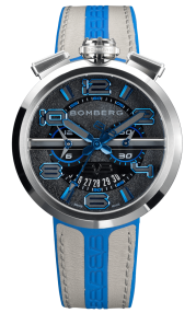 Bomberg 1968 Blue & Grey Chronograph Gent 45mm RS45CHSS.144.3