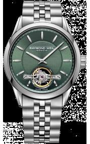 Raymond Weil Freelancer Automatic Green Watch 2780-ST-52001