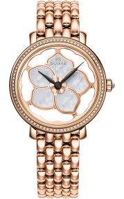 Silvana Flowers Pink PVD - Diamonds SF36QRD85R