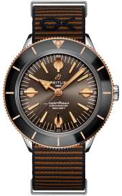 Breitling Superocean Heritage '57 Outerknown Limited Edition Stainless Steel & 18k Red Gold Bronze U103701A1Q1W1