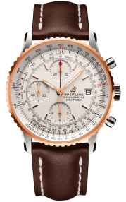 Breitling Navitimer Chronograph 41 Steel & Red Gold - Mercury Silver U13324211G1X1