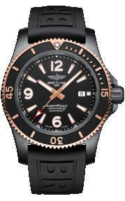 Breitling Superocean Automatic 46 Black Steel - Black U17368221B1S1
