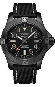 Breitling Avenger Automatic 45 Seawolf Night Mission DLC-Coated Titanium Black V17319101B1X1