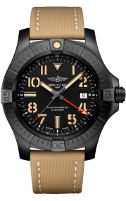 Breitling Avenger Automatic GMT 45 Night Mission DLC-Coated Titanium Black V32395101B1X1