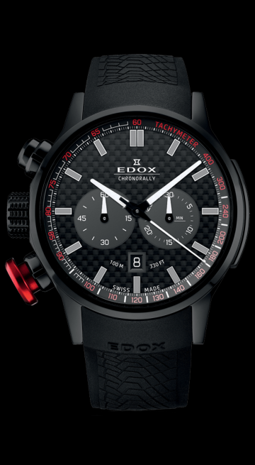 Edox Chronorally Chronograph 10302-37N-NIN
