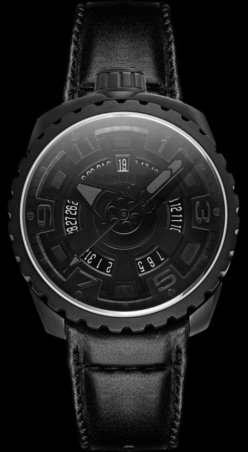 Bomberg Bolt-68 All Black Matte 45mm BS45APBA.045-5.3