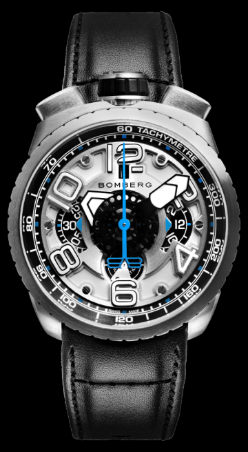 Bomberg Bolt-68 Silver Automatic Chronograph 47mm BS47CHASS.041-5.3
