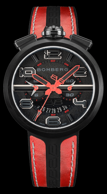 Bomberg 1968 Red & Black Chronograph Gent 45mm RS45CHPBA.22.3